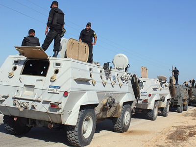 #Egypt: Security breakdown in Sinai - army battles it out with militants | From Tahrir Square | Scoop.it