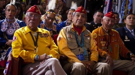 Congress to honor Native American 'code talkers' who helped beat WWII Germany | The Raw Story | Modern History Mojoham | Scoop.it