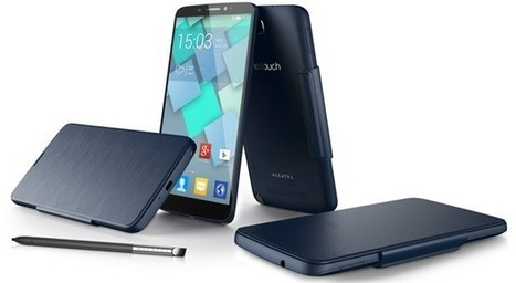 Alcatel dévoile sa phablette One Touch Hero, avec écran E-ink en option | Bons plans informatique | Scoop.it