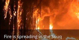 Real Syria Updates: LEAKED: FSA Filmed Their Burning of Aleppo Ancient Souq! | Global politics | Scoop.it