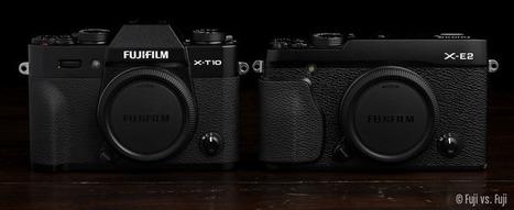 X-T10 vs. X-T1 vs. X-E2 | Fuji vs. Fuji | Photography | Scoop.it