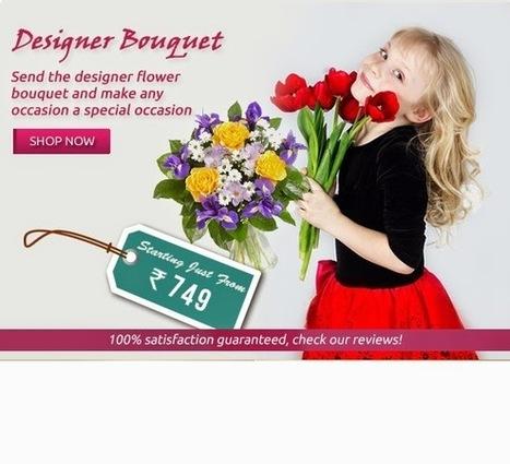 Top Florist in Delhi : online florists deliver special gifts | Online Flower Delivery in India | Scoop.it