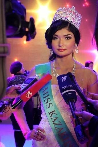 Zhazira Nurimbetova Miss Kazakhstan Universe 2014 | Celebrity Girls Photo Gallery | cute girls picture | Scoop.it
