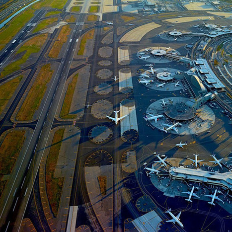 Aerial Photographs by Jeffrey Milstein Showing the Beautiful Complexity of Major Airports | What's new in Visual Communication? | Scoop.it