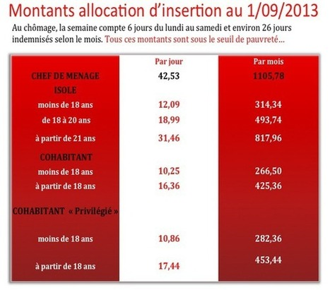 """Stage d'insertion : un nouveau contrôle """"dispo"""" pour une économie de 61,8 Mio d'euros   ActuChomage.info   Scoop.it"""