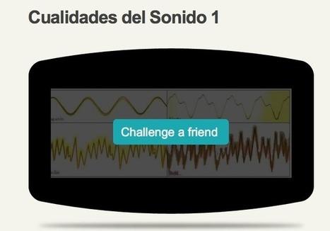 """""""Cualidades del Sonido"""" Reconocimiento visual y auditivo con dos cuestionarios Blubbr   Música y TIC   Scoop.it"""