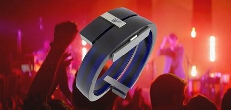 Lightwave, le bracelet connecté qui juge la prestation d'un DJ - Innovations digitales | Les dernières innovations digitales | Scoop.it