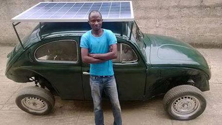 Estudiante nigeriano convierte un Volkswagen escarabajo en un coche solar-eólico | tecno4 | Scoop.it