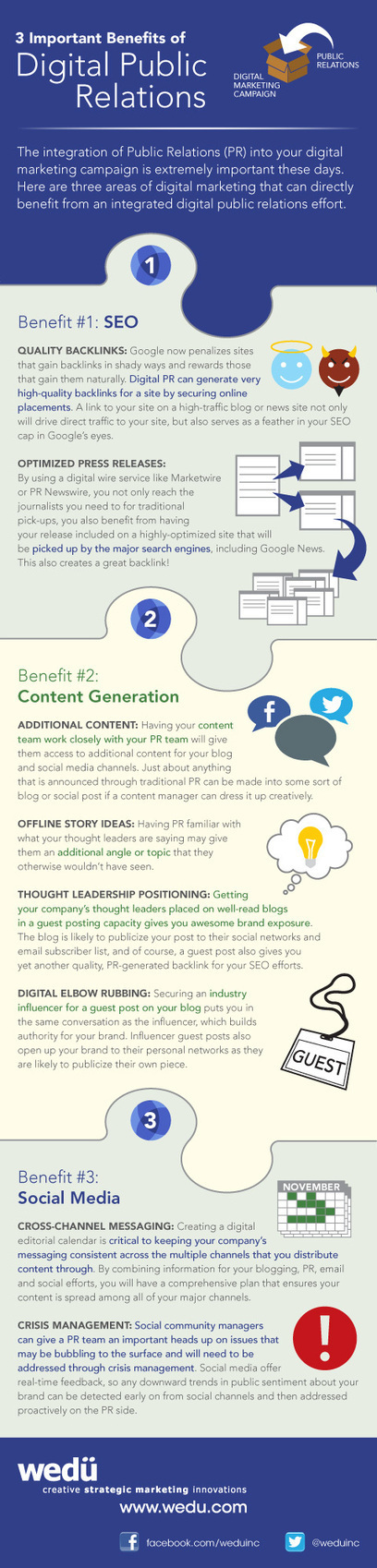 3 Important Benefits of Digital Public Relations (Infographic) | Social Media Today | Marketing & Webmarketing | Scoop.it