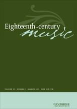 Cambridge Journals Online - Abstract | Haydn in London: MUSI2112_3119 | Scoop.it
