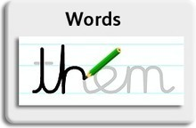 Letter-join. Interactive cursive letters and joined-up handwriting | Digital Childhood | Scoop.it