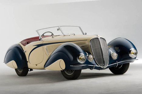 1937 Delahaye 135 Competition Court Roadster is more Art than Deco | Avant-garde Art, Design & Rock 'n' Roll | Scoop.it
