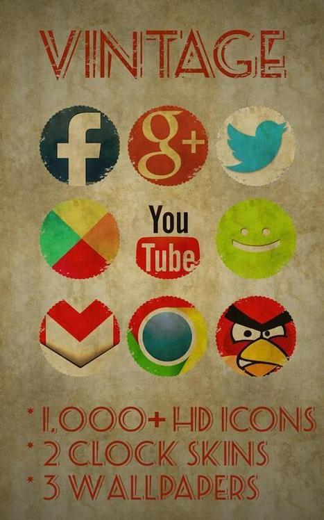 Icon Pack - Vintage v2.1 | ApkLife-Android Apps Games Themes | MY FIRST TOPIC | Scoop.it
