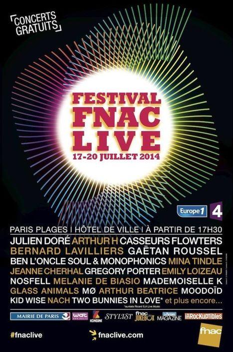 Le festival gratuit Fnac Live dévoile sa programmation | Mangez des News | Scoop.it