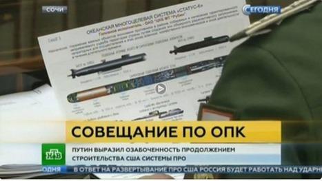 La télévision russe dévoile par erreur les plans d'une nouvelle arme secrète | Crise de com' | Scoop.it