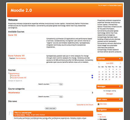 Standard based Moodle themes are now available in the Addon Repository | Moodle Best LMS | Scoop.it