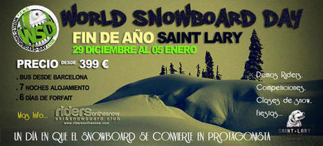 world snowboarday en saint lary | test wp tumblog | Scoop.it