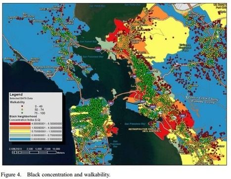 Black Residents of San Francisco Are Far Less Likely to Live in Walkable Neighborhoods | Sustainable Futures | Scoop.it