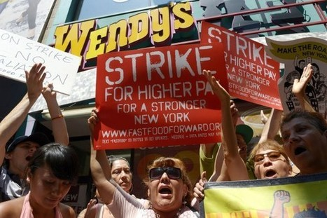 Fast Food Strikes Go Viral: Workers Expected to Protest Low Wages in 35 Cities ... - TIME | Two Jobs and Counting | Scoop.it