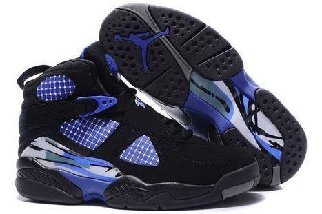 Jordan 8 black blue Nike Womens Size Shoes | new style | Scoop.it