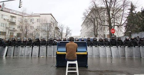 The Viral Photo From Ukraine That Proves Music Really Can Change the World   Art, Culture et Société   Scoop.it