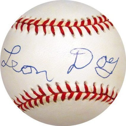 Hollywood Collectibles Leon Autographed Baseball | Sport Outdoor | Scoop.it
