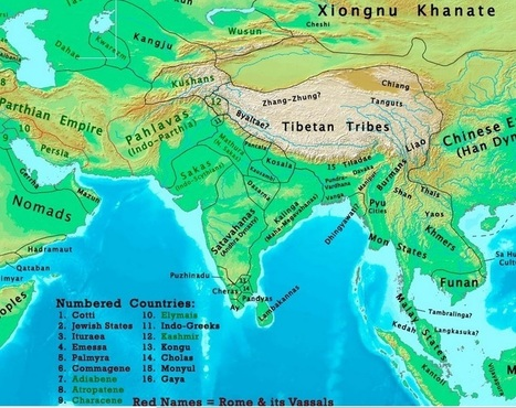 The changing map of India from 1 AD to the 20th century | Year 1 Geography: Places - India | Scoop.it