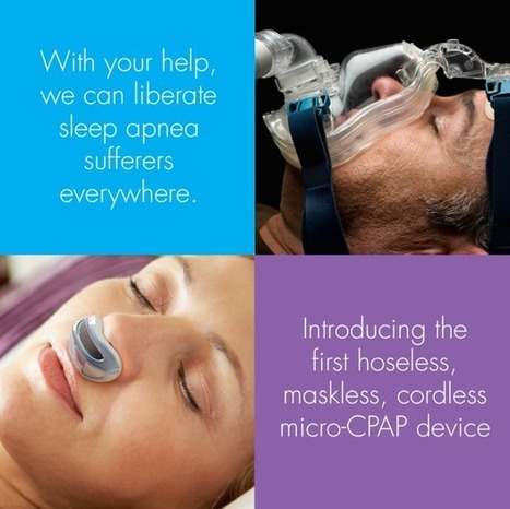 CLICK HERE to support Airing: the first hoseless, maskless, micro-CPAP | Interesting Sciences | Scoop.it
