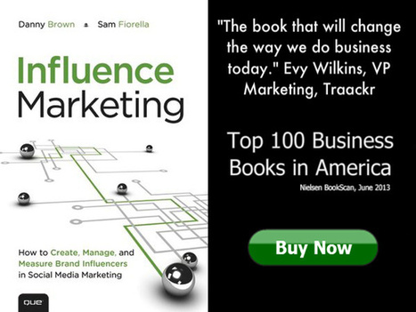 Is Influence Marketing the Tipping Point in Social Media ROI? — Influence Marketing: The Book | Core Militants | Scoop.it