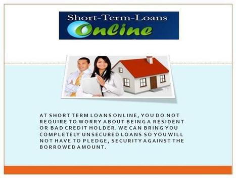 Suitable Approach to Sort Out Your Money Crisis Requirements Ppt P.. | Short Term Loans Online | Scoop.it