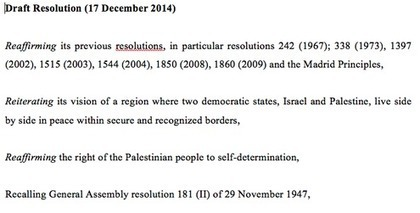Palestinians Make Strides Toward Draft Resolution at U.N. | enjoy yourself | Scoop.it