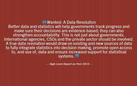 Data Revolution: how big data can help development   Banche e mercati   Scoop.it