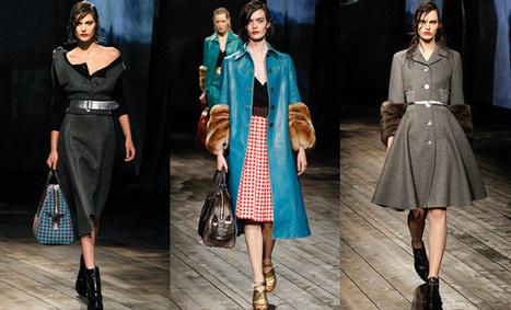D�fil� Prada - Automne/hiver 2013-2014 - Tendances de Mode | mode | Scoop.it