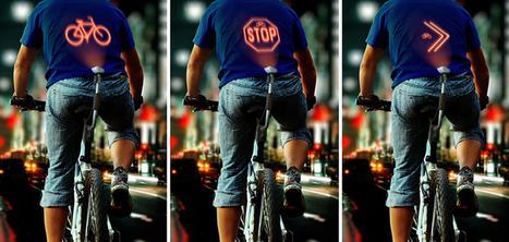 Ce laser projette les actions des cyclistes dans leur dos | Ressources pour la Technologie au College | Scoop.it
