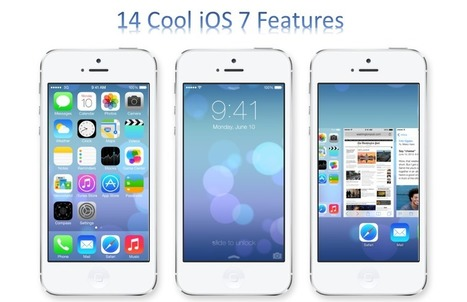 14 Cool New iOS 7 Features You can't Miss | ICT in Education | Scoop.it