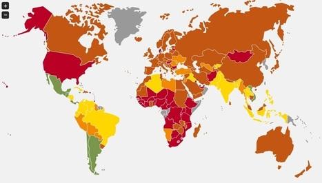 Los Países Mas Felices del Mundo 2012   Nuevas Geografías   Scoop.it