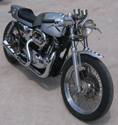 Harley-Davidson Cafe Racer ~ Grease n Gasoline | Wandering Salsero | Scoop.it