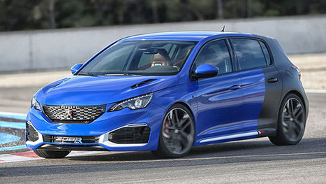 Peugeot 308 R hybride dans les cartons? - le blog auto   Automobile technologie   Scoop.it