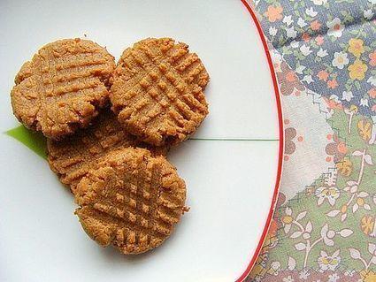 2 Ingredient Gluten-Free Almond Butter Cookie Recipe | Delicious Recipes | Scoop.it