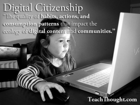 Definition Of Digital Citzenship | educational technology for teachers | Scoop.it