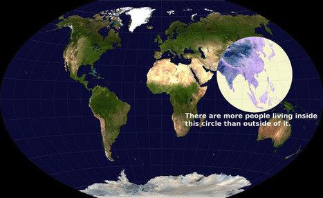Visualizing Global Population Density | The Big Picture | Futurewaves | Scoop.it