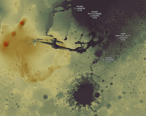 Mapping Mars with Open Planetary Data | MapBox | World History and Current Issues | Scoop.it