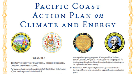 New agreement to fight climate change by cutting carbon... | Pacific Coast Action Plan on Climate and Energy | Scoop.it