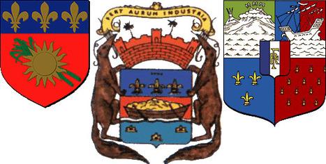 Origine des blasons des régions françaises: en Outre-Mer | Un article d'Omnilogie.fr | Nos Racines | Scoop.it