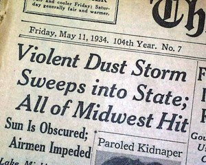 NewsPaper Clipping (Primary document #3) | The Dust Bowl (0129) | Scoop.it