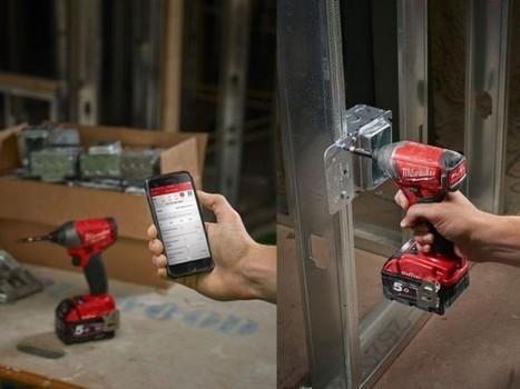 Des outils connectés pour faciliter la vie sur les chantiers | Technologies | Scoop.it