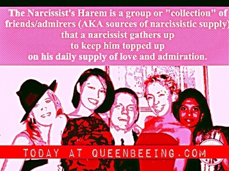 Are you part of a narcissist's harem? You might be shocked. | Narcissism, sociopathy, sexual addiction and serial cheating | Scoop.it