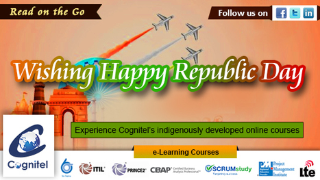 Constitution gave us Faith, Freedom, Peace and Pride Let's value the day it was created, and wish Happy Republic Day with a smile. Cognitel | Cognitel Training Courses | Scoop.it