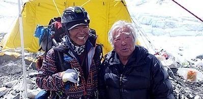 Record: Un japonais de 80 ans escalade l'Everest | L'escalade | Scoop.it