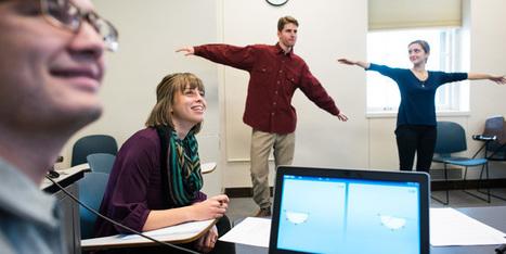 Over embodied cognition: Wiskunde leren met de Kinect in de klas | Gadgets en onderwijs | Scoop.it